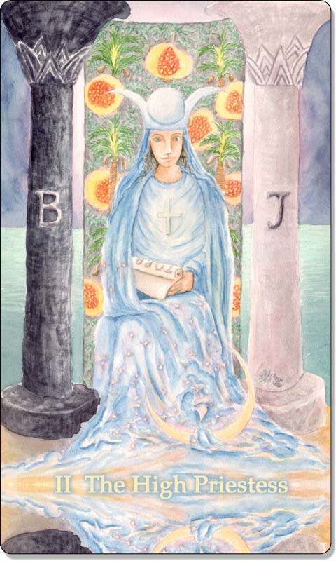 Image of The High Priestess card