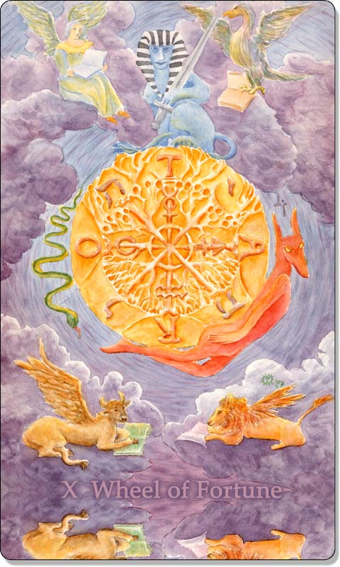 Image of The Wheel of Fortune card