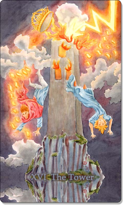 Image of The Tower card