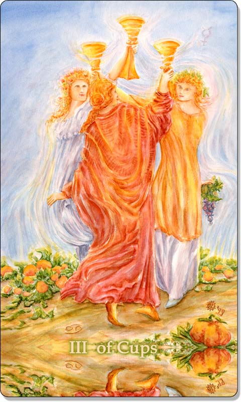 Image of The Three of Cups card