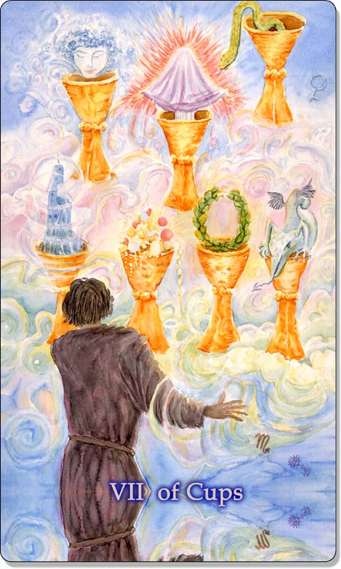 Image of The Seven of Cups card