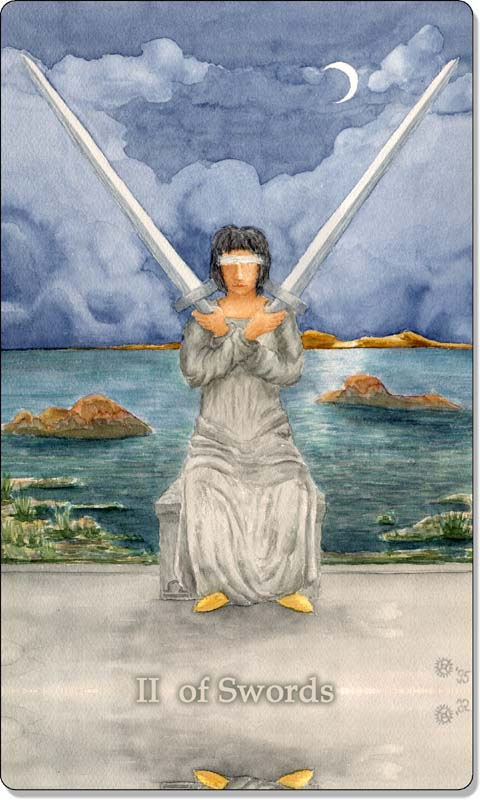 Image of The Two of Swords card