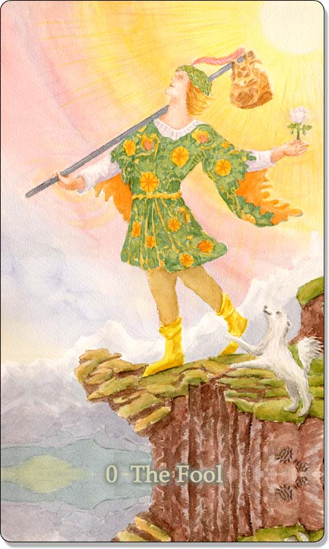 Image of The Fool card