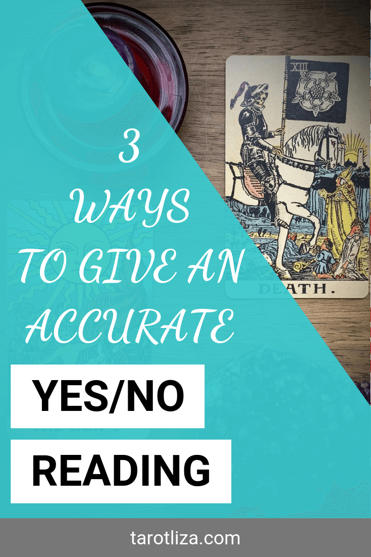 3 Ways to Give an Accurate Yes/No Reading