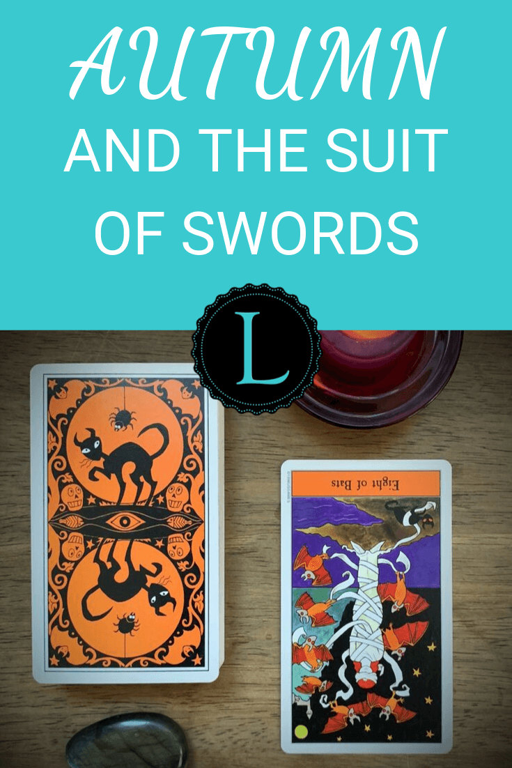 Autumn and the Suit of Swords