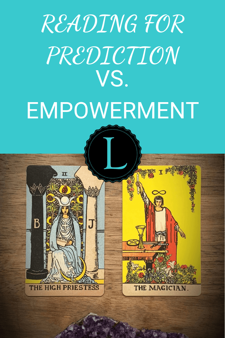 Reading for Prediction vs. Empowerment