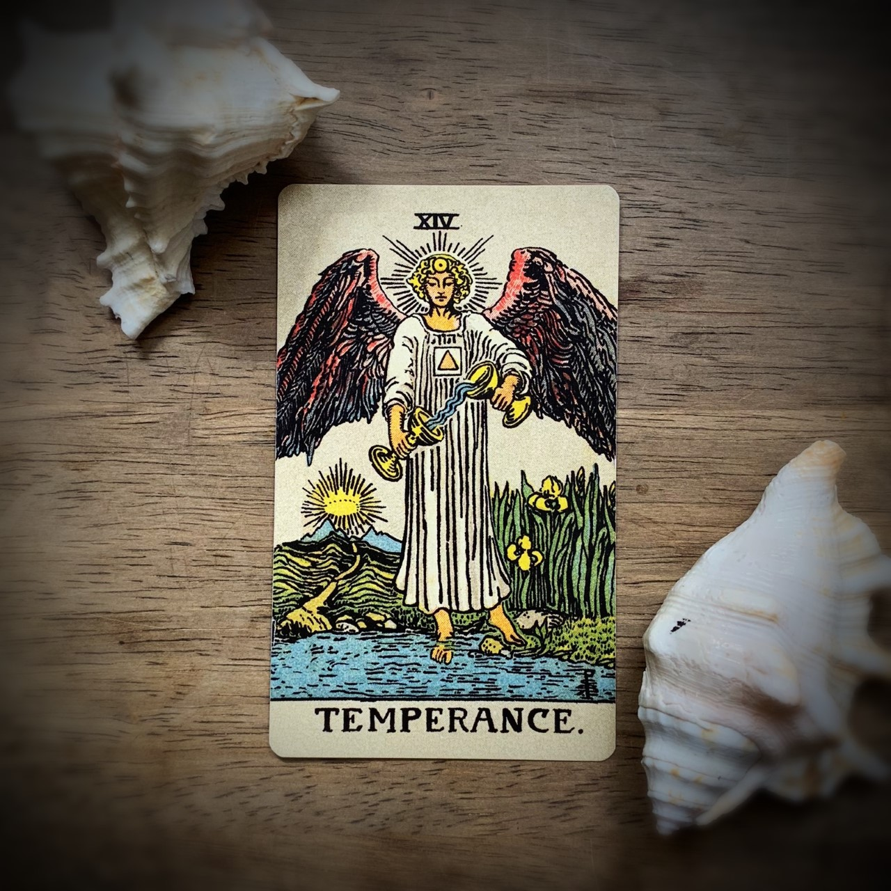temperence virtue card
